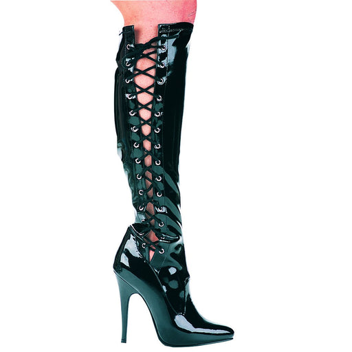 "5"" Heel Knee High Stretch Boot (ES-Fierce Final Sale)"