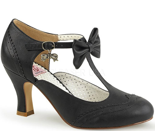 "3"" Kitten T-Strap Pump (FLAPPER-11)"