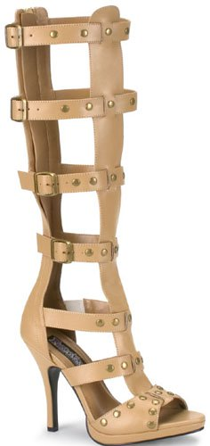 "4 1/2"" Heel Knee High (Gladiator-208)"