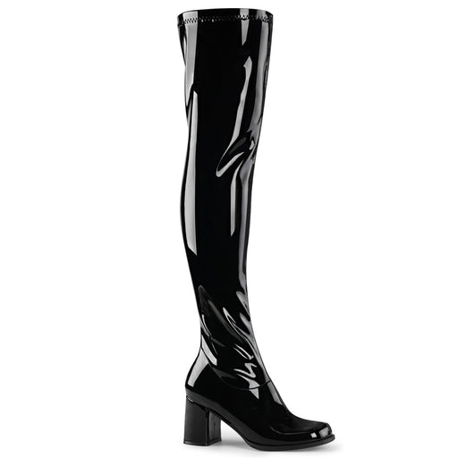 "3"" Block Heel Gogo Over-the-Knee Boot (GOGO-3000)"
