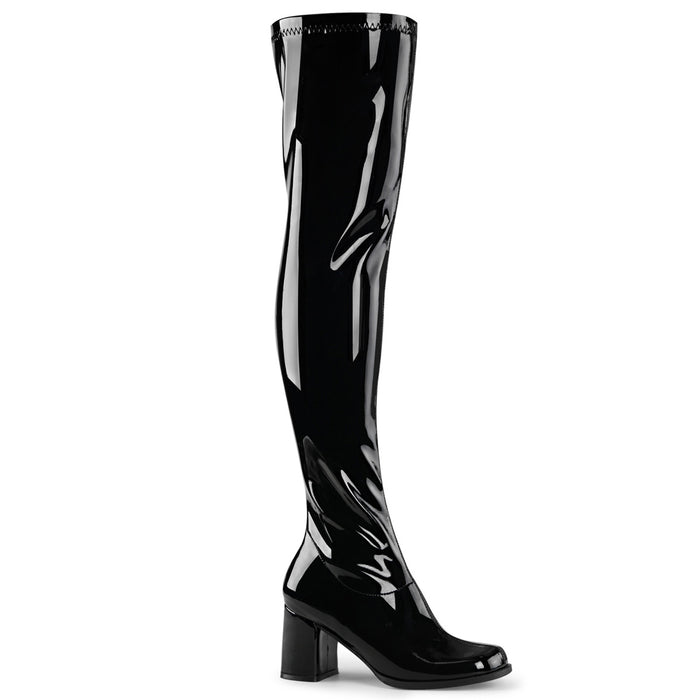 "3"" Block Heel Gogo Over-the-Knee Boot(GOGO-3000)"