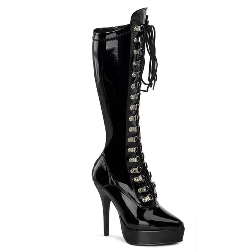 "5 1/4"" Lace-Up Platform Knee Boot (INDULGE-2024)"