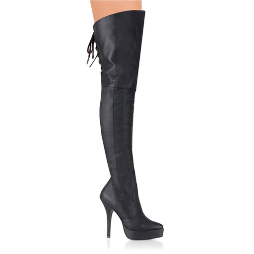 "5 1/4"" Heel Platform Thigh Boot (INDULGE-3011)"