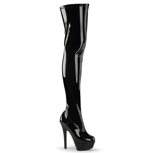 "6"" Stiletto Platform Thigh Boot(KISS-3000)"
