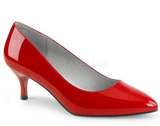 "2 1/2"" Kitten Heel Pump (KITTEN-01)"