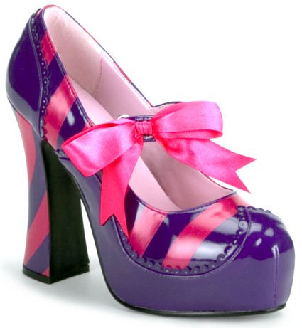 "4"" Chunk Heel Mary Jane (Kitty-32 Blowout Final Sale)"