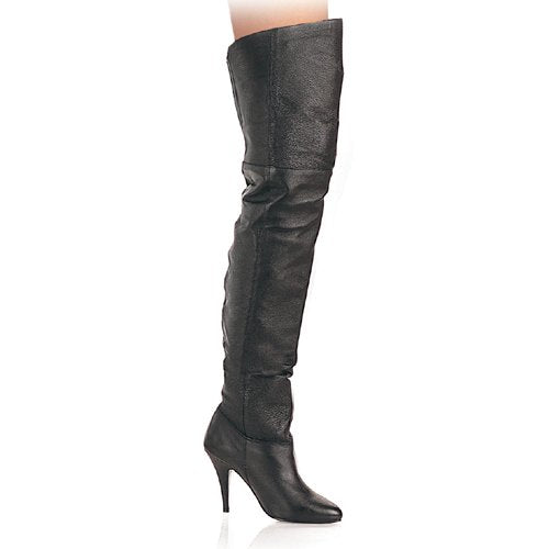 "4"" Heel Thigh High Leather Boot (Legend-8868)"