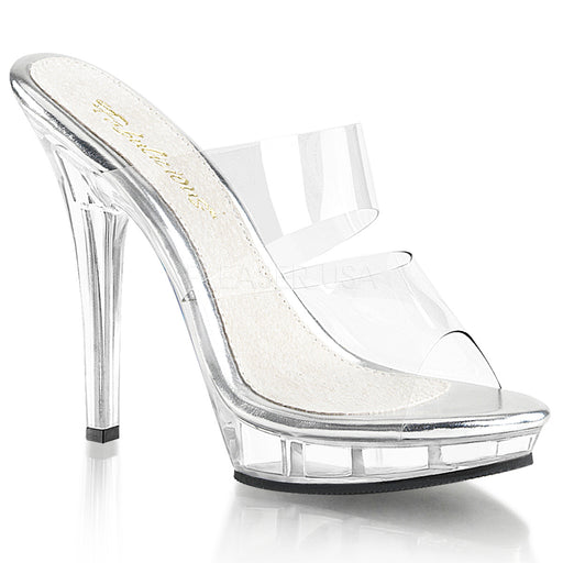 "5"" Stiletto Heel Mini-Platform Slide(LIP-102)"