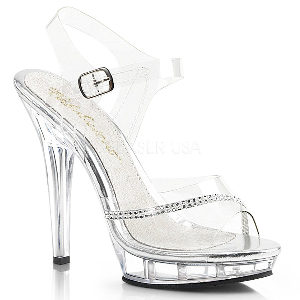 "5"" Stiletto Mini-Platform Sandal (LIP-108R)"