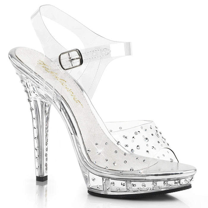 "5"" Stiletto Mini-Platform Sandal (LIP-108RS)"