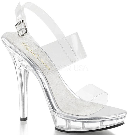 "5"" Stiletto Mini-Platform Sandal (LIP-114)"