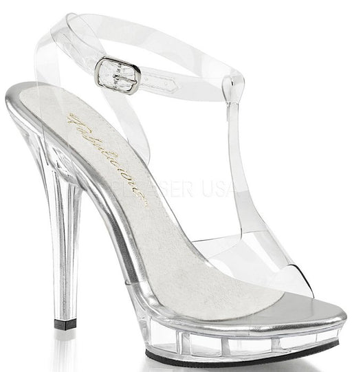 "5"" Stiletto Mini-Platform Sandal (LIP-118)"