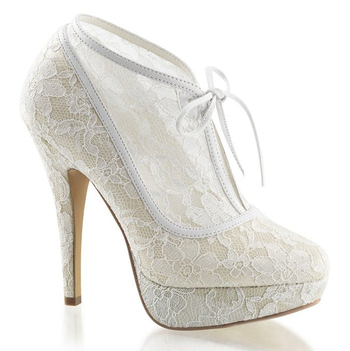 "5"" Heel  Lace Overlay Ankle Bootie(Lolita-32)"