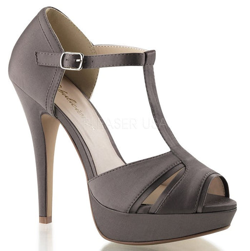 "5"" Heel Peep Toe T-Strap Sandal (Lolita-20)(Blowout)(Final Sale)"