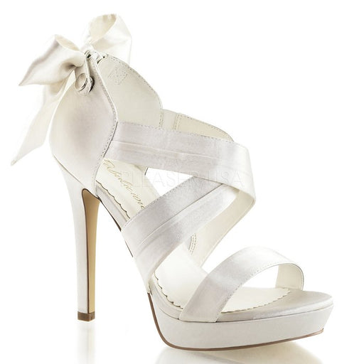 "4 3/4"" Heel Platform Sandal with Back Bow(Lumina-29)"