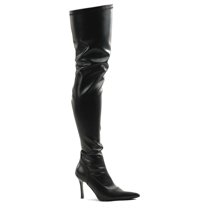 "3 3/4"" Stretch Thigh Hi Boots(LUST-3000 Final Sale)"