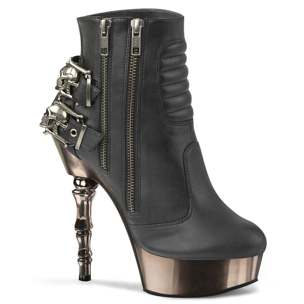 "5 "" Finger Bone Ankle Boot (MUERTO-900)"