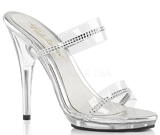 "5"" Stiletto Rhinestone Slide (POISE-502R)"