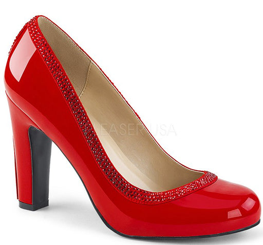 "4"" Heel Mary Jane Pump (QUEEN-04)"