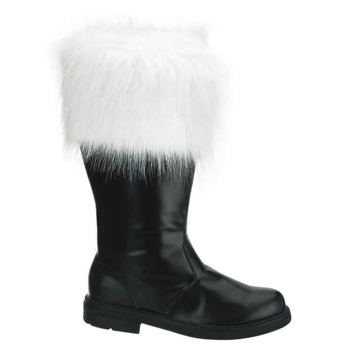 Men's Santa Boot W/ Fur Trim (SANTA-100)