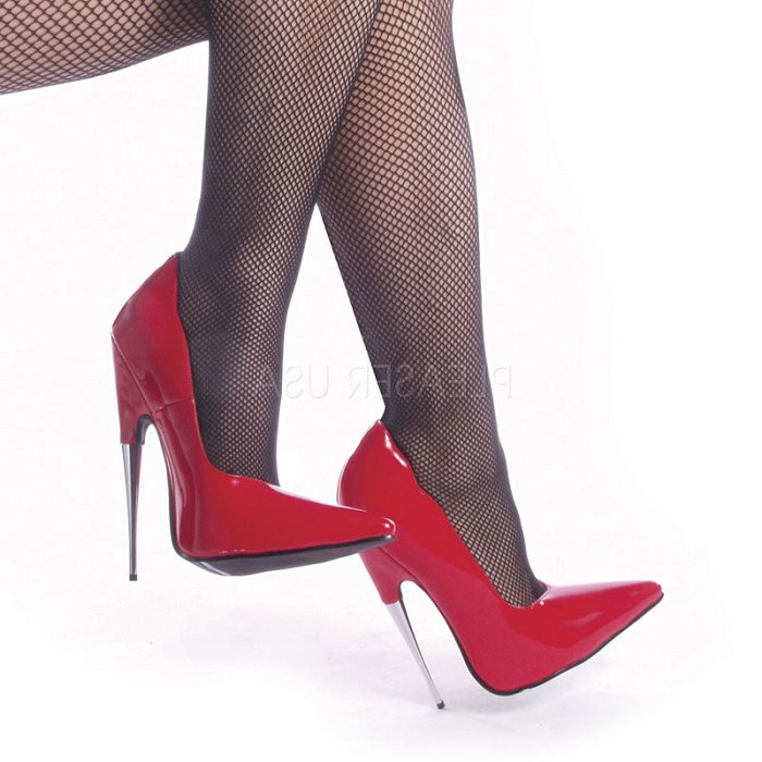 "6"" Spike Steal Heel Pump(SCREAM-01)"