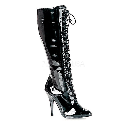 "5"" Lace Up Knee Boot (SEDUCE-2020)"