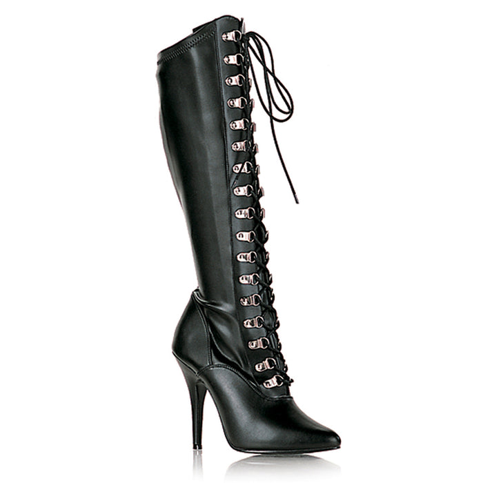 "5"" D-Ring Stretch Knee Boot (SEDUCE-2024)"