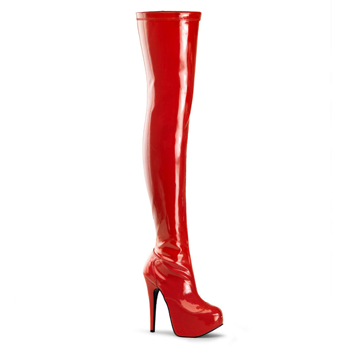 "5 3/4"" Heel Stretch Thigh Boot(TEEZE-3000)"