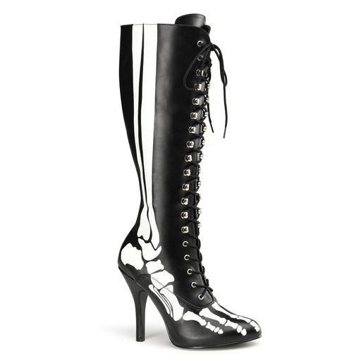 Knee Boot With X-Ray Skeleton (X-RAY-220 Final Sale)