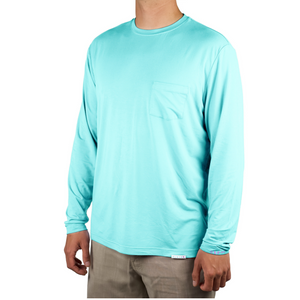 Plaia bamboo shirt acqua