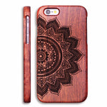 Wooden Case for Apple iPhone