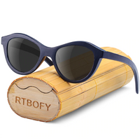 Polarized Wooden Sunglasses for Children