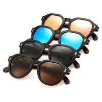 Ebony Layered Wooden Sunglasses