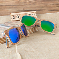 Funky Skateboard Wood Sunglasses
