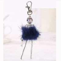 Stylish Doll Keychain