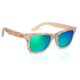 Cool Skateboard Wood Sunglasses