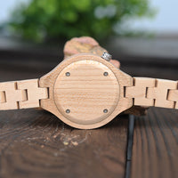 Natural Wooden Bamboo Watch for Women