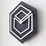 Clever Abstract Wall Clock