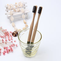 Eco Friendly Bamboo Toothbrush with Round Handle