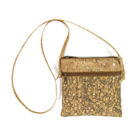 Natural Handmade Cross Body Cork Handbag