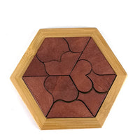 Educational Wooded Geometric Puzzles