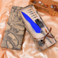 Vintage Quill Fountain Pen Gift Set