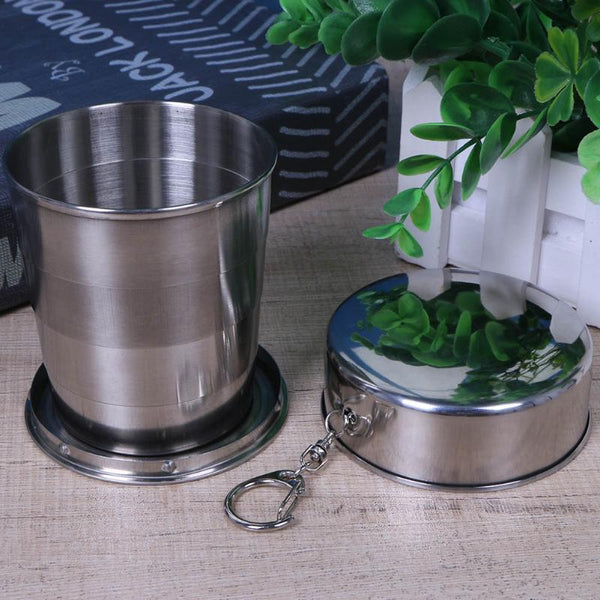 Stainless Steel Folding Coffee Cup