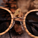 Polarized Zebrawood Sunglasses