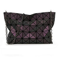 Luminous Geometric Handbag