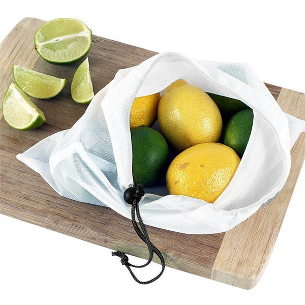 12 Reusable Fruit and Veggie Bags
