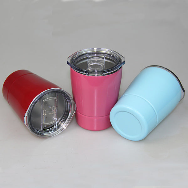 Stainless Steel Travel Cups with Lids