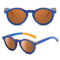 Wooden Retro Sunglasses for Children