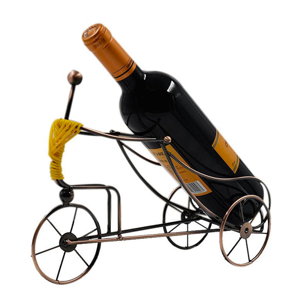 Rickshaw Metal Wine Rack