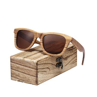 Handmade Zebra Wood Sunglasses